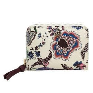 NWT Tory Burch • Happy Times Floral Coin Purse